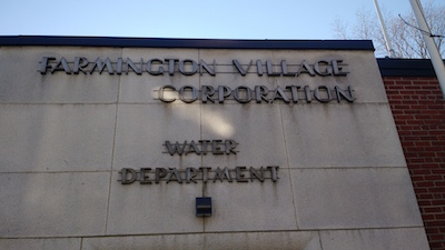 Farmington Water Department Building Front
